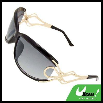 Black Frame Unique Ladies Women Sports Sunglasses