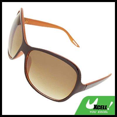 Sports Brown Unisex Eyewear Ladies Men Sunglasses