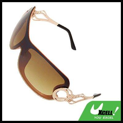 Orange Frame Stylish Ladies Women Cool Sports Sunglasses