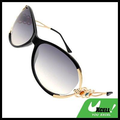 Black Frame Girl's Eyewear Sports Sunglasses