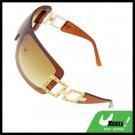 Ladies Women Cool Brown Lens Sports Sunglasses