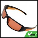 Black Frame w/Orange Polarized Sports Woman Sunglasses