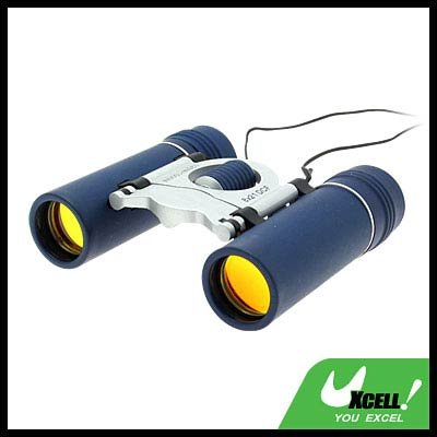 Binoculars 8x21mm Vision Scope - Blue