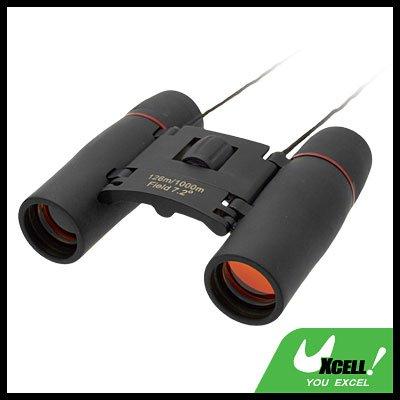 Mini Sports Outdoor 10x22 Binoculars Telescope Black