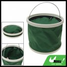 8L Portable Camping Folding Water Bucket Pail w/ Cover