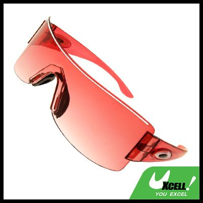 Rimless Red Lens Gilr  Children Sports Sunglasses