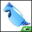 Rectangle Blue Lens Men's Sports Sunglasses