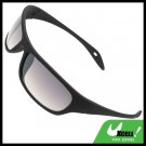Fashion Lady's Black Frame Sports Shopping Sun Sunglasses