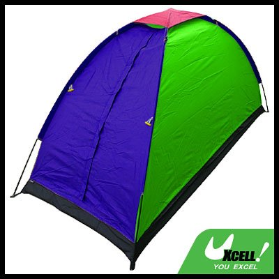 One Person Single Beach Camping Outdoor Ultralight Tent with Bag