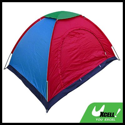 Camping Camp Tent 2-3 Person Couple Family w/ Stuff Bag