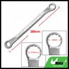 19MM 21MM Metric Combination Offset Dual Box End Wrench 12 Point