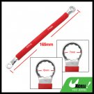 Double Side 6mm 7mm Red Soft Grip Offset Box End 12 Point Wrench Tool