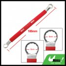 Red Soft Grip Double Side 8mm 9mm Offset Box End 12 Point Wrench Tool
