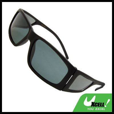 Polarized Sports Driving Black Frame Men's Sunglasses