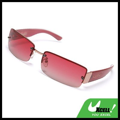 Ladies' Polarized Sports Sunglasses w. Plastic Arm & Metal Frame