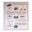 1961 Mann Volume Gun Irrigation Systems Print Ad