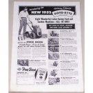 1952 Lightning Change Rotto-Ette Garden Tiller Print Ad