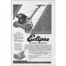 1931 Eclipse Model 25 Power Mowers Lawn Mower Print Ad