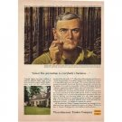 1955 Weyerhaeuser Timber Company Color Print Ad
