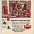 1955 Tokheim Farm Pumps Color Print Ad - Farmyard Service Station