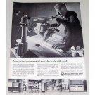 1960 DeWalt Compound Miter Saw DeWalt Power Shop Print Ad