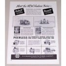 1951 Hudson Power Sprayers New Hudson Twins Print Ad
