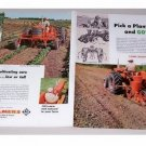 1960 Allis Chalmers Farm Tractors Implements 4 Page Color Print Ad