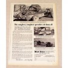 1956 New Idea Manure Spreader Print Ad