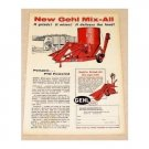 1959 Gehl Mix All Feed Grinder Print Ad