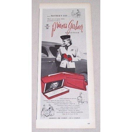 1946 Princess Gardner Registrar Wallet Print Ad