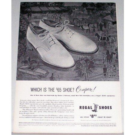 1948 Regal Shoes Print Ad