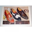 1955 Jarman Summer Styles Shoes Color Print Ad