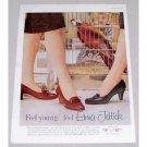 1960 Enna Jettick Fremont Monaco Women Shoes Color Print Ad