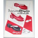 1948 Oomphies Women's Shoes Color Print Ad