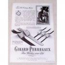 1947 Girard Perregaux Watches Print Ad Sir Joshua Reynolds