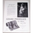 1946 Girard Perregaux Watch Gainesborough Portrait Print Ad