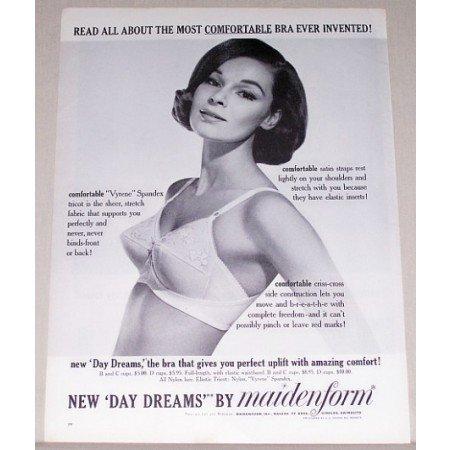 1963 Maidenform Day Dreams Bra Print Ad