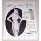 1946 Formfit Bra Girdle Set Print Ad - Glorify Your Lifeline