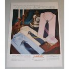 1955 Arrow Softones Men's Shirts Color Print Ad