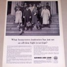 1954 Savings and Loan Foundation Print Ad