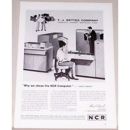 1962 NCR Cram Computer System Print Ad