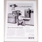 1962 NCR Cram Computer System Print Ad