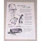 1954 Dictaphone Time Master 5 Dictating Machine Print Ad