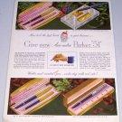 1949 Aero-Metric Parker 51 Ink Pen Sets Color Print Ad