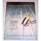 1946 Eversharp Sixty-Four 64 Pen Pencil Set Color Print Ad