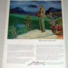1953 John Hancock Insurance olor Art Print Ad - Guards Our Earth