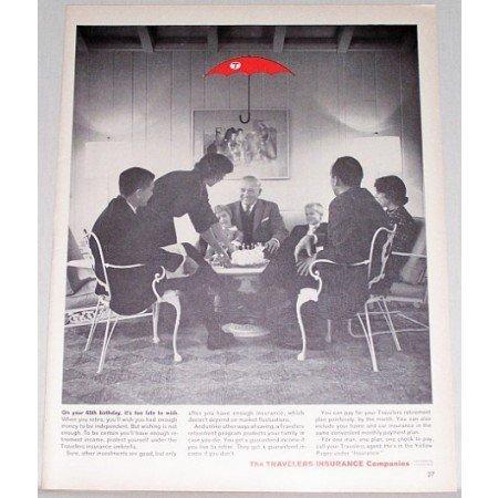1962 The Travelers Insurance Companies Print Ad