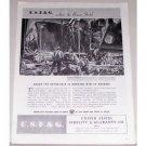 1944 United States Fidelity and Guaranty Company Oregon Shipyard Art Print Ad
