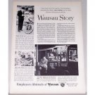 1955 Employers Mutuals of Wausau Print Ad