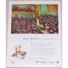 1945 Beer Belongs Boston Pops Concert Color Art Print Ad